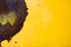 Hoja atascada del hierro Imagen de archivo libre de regalías