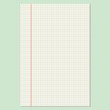 Hoja Checkered Imágenes de archivo libres de regalías