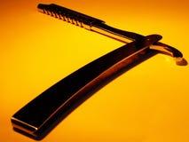 Hoja de afeitar Imagen de archivo libre de regalías