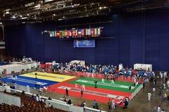 Hoja de cercado internacional 2015 de St Petersburg del torneo imagen de archivo
