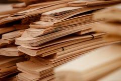 Hoja de chapa marrón clara abstracta imagen de archivo libre de regalías