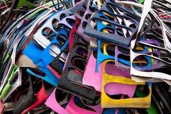 Hoja de goma perdida Foto de archivo libre de regalías