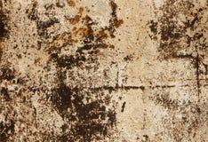 Hoja de metal aherrumbrada vieja Superficie oxidada causada por el hierro de la oxidación imagen de archivo libre de regalías