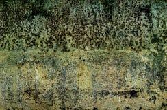 Hoja de metal aherrumbrada vieja Superficie oxidada causada por el hierro w de la oxidación imagen de archivo libre de regalías