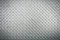 Hoja de metal de acero del checkerplate, fondo de la textura de la hoja de metal , abstracto Fotos de archivo
