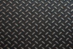 Hoja de metal de acero del diamante Fotografía de archivo libre de regalías