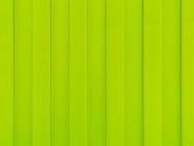 Hoja de metal del color verde Fotos de archivo libres de regalías