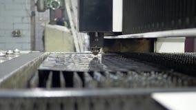 Hoja de metal del corte del laser del CNC de la alta precisión almacen de metraje de vídeo