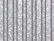 Hoja de metal - galvanizada Foto de archivo