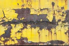Hoja de metal oxidada Fotos de archivo
