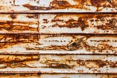 Hoja de metal oxidada Imagen de archivo libre de regalías