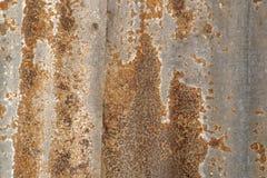 Hoja de metal oxidada Fotografía de archivo libre de regalías