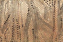 Hoja de metal perforada Imagen de archivo libre de regalías