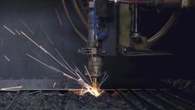 Hoja de metal de soldadura de laser del CNC de la alta precisión, corte de alta velocidad, soldadura de laser, laser que corta la almacen de metraje de vídeo
