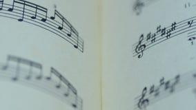 Hoja de notas musicales, Dolly Shot motorizada metrajes