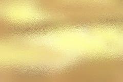 Hoja de oro brillante Imagenes de archivo