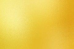 Hoja de oro brillante Imagen de archivo libre de regalías