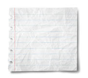 Hoja de papel Imágenes de archivo libres de regalías
