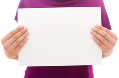 Hoja de papel Imagenes de archivo