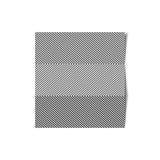Hoja de papel rayada del vector Foto de archivo libre de regalías
