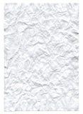Hoja de papel Rumpled Imagen de archivo libre de regalías