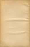 Hoja de papel vieja Imágenes de archivo libres de regalías