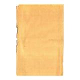 Hoja de papel vieja Foto de archivo libre de regalías