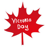 Hoja de Rel que significa un día canadiense de la victoria Imagen de archivo