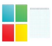 Hoja de un cuaderno Imagen de archivo