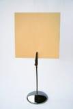 Hoja de un papel con un lugar para el texto. Imagen de archivo