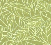 Hoja del batik stock de ilustración