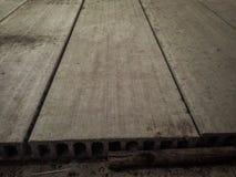 Hoja del cemento Fotografía de archivo libre de regalías