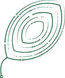 Hoja del circuito stock de ilustración