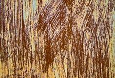 Hoja del hierro con moho Fotos de archivo