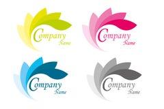 Hoja del logotipo Fotos de archivo