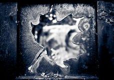 Hoja del metal Imagen de archivo libre de regalías