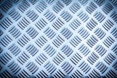 Hoja del metal cubierta con las líneas fondo Imágenes de archivo libres de regalías