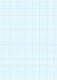 Hoja del papel de gráfico A4 Imágenes de archivo libres de regalías