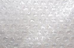 Hoja del plástico del plástico de burbujas Imágenes de archivo libres de regalías