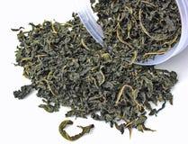 Hoja del té y de las mercancías Foto de archivo