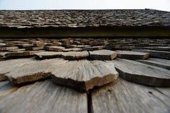 Hoja del tejado Fotos de archivo