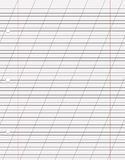 Hoja del vector del papel Imagenes de archivo