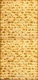 Hoja judía tradicional del Matzo Fotografía de archivo libre de regalías
