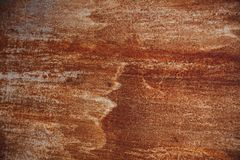 Hoja oxidada del hierro foto de archivo libre de regalías