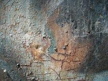 Hoja oxidada vieja del hierro Imagen de archivo