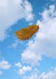 Hoja y cielo de la caída imagen de archivo libre de regalías