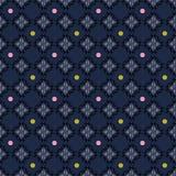 Hoja y puntos geométricos del cordón Ilustración del vector stock de ilustración