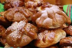 Hojaldra o día del pan muerto Foto de archivo libre de regalías