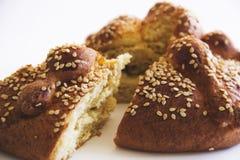 Hojaldra oder Tag des toten Brotes Stockfotos