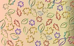 Hojas coloridas Imagen de archivo